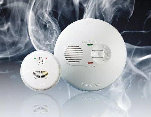 mains smoke alarms