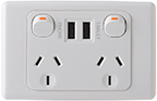 cheap usb socket outlets installed in Perth by our electricians